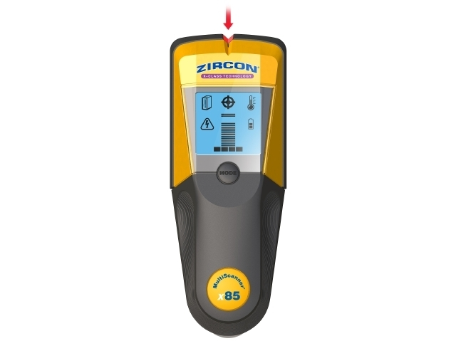 Metalo ir universalios paskirties sijų ieškiklis StudSensor X85 Onestep Zircon