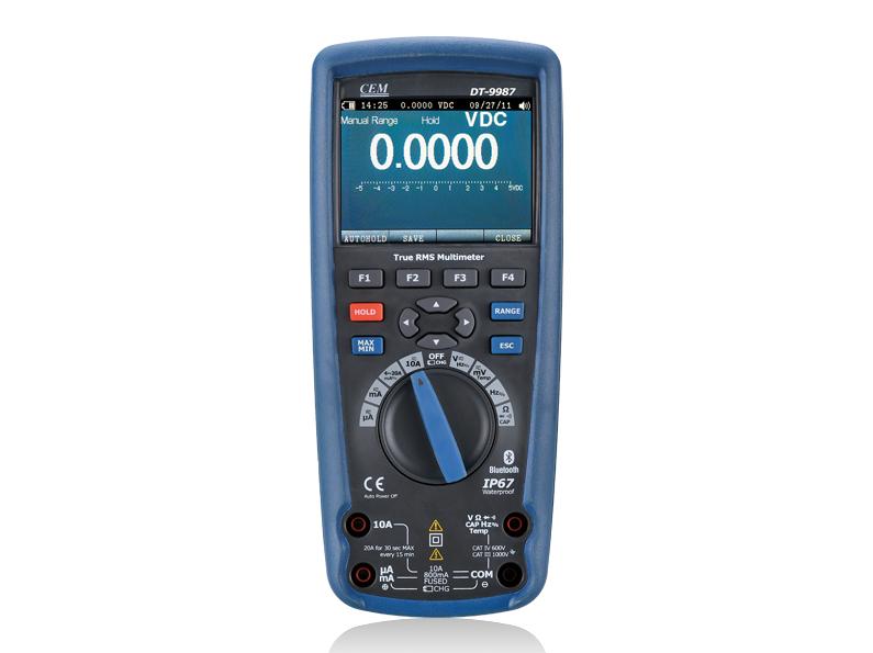 Profesionalus tikrojo RMS multimetras DT-9987