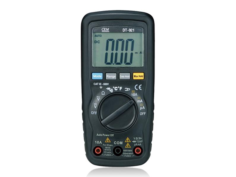 Skaitmeninis multimetras DT-922