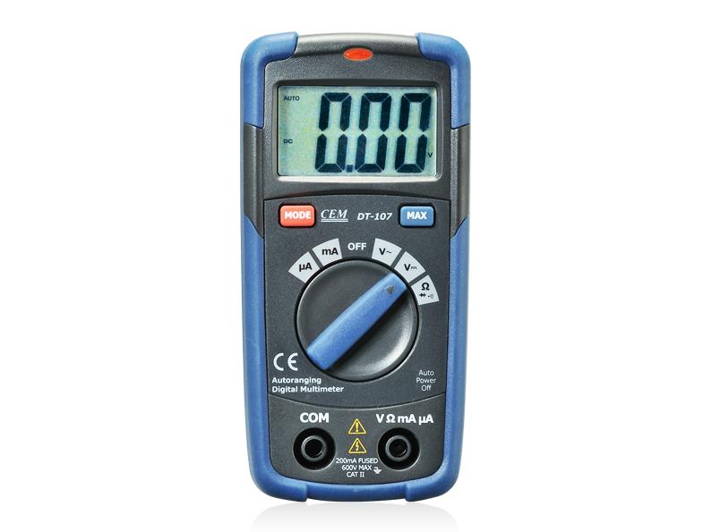 Kišeninio dydžio multimetras DT-108