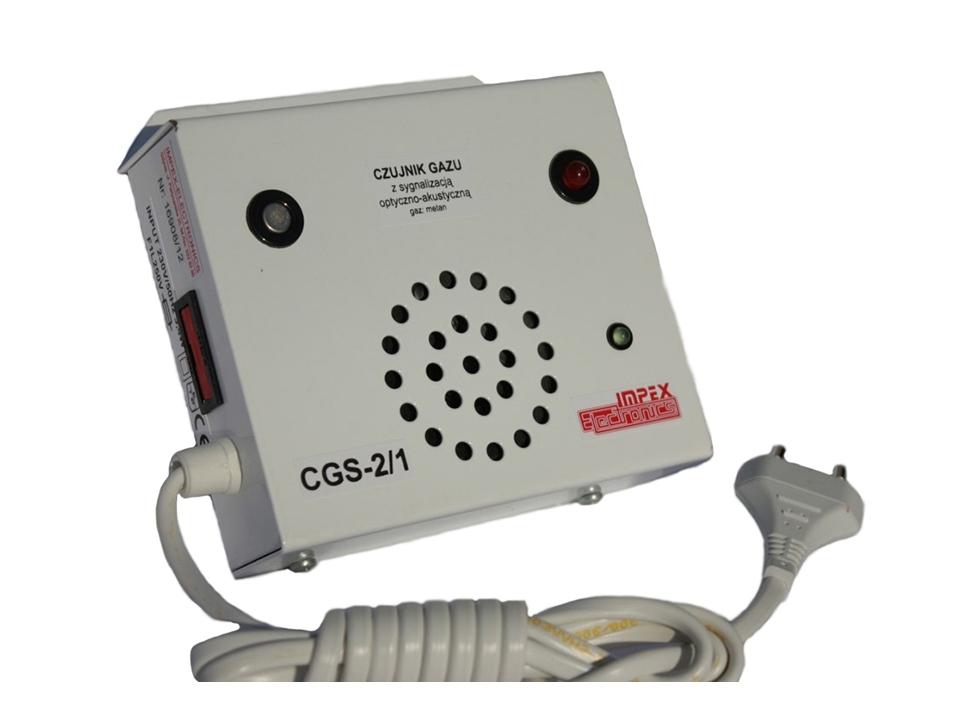 Metano dujų detektorius CGS-2/1 metan 230V