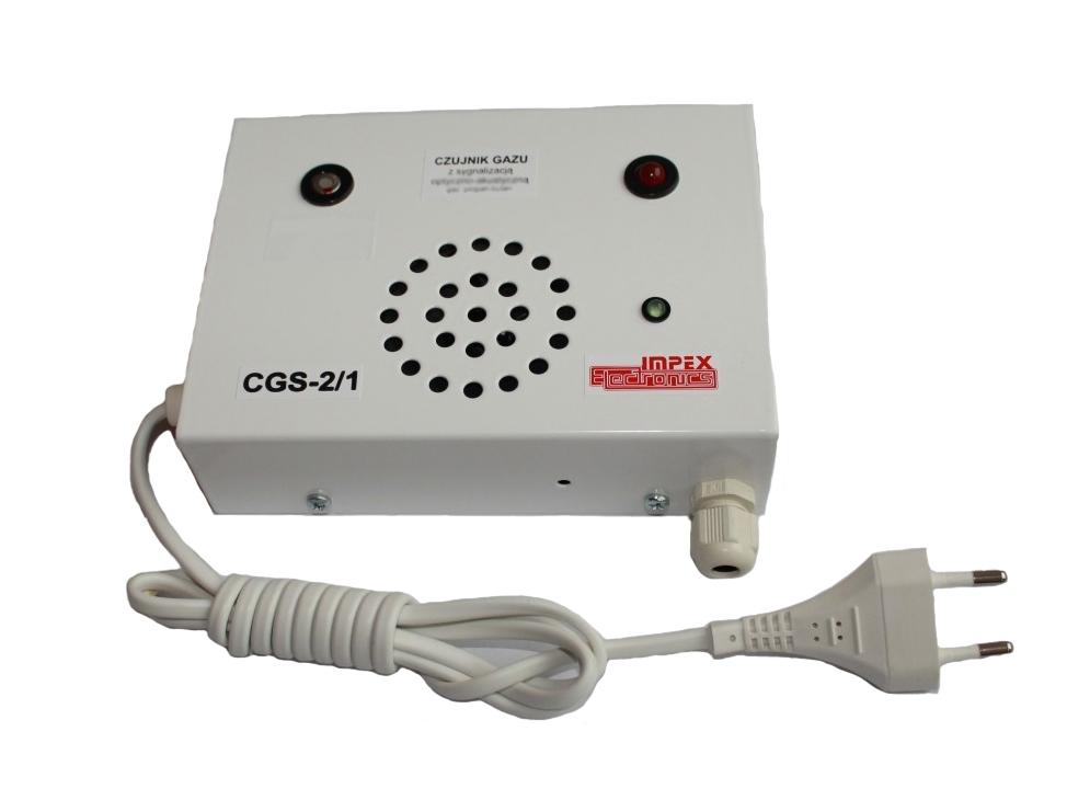 Anglies monoksido aptikimo detektorius CGS-2/1 2P 230V