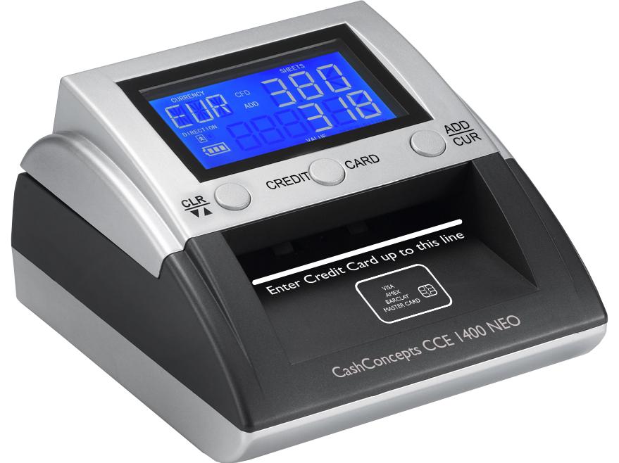 Banknotų tikrinimo aparatas CCE 1400 NEO