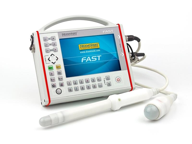 Ultragarsinis skeneris FAST