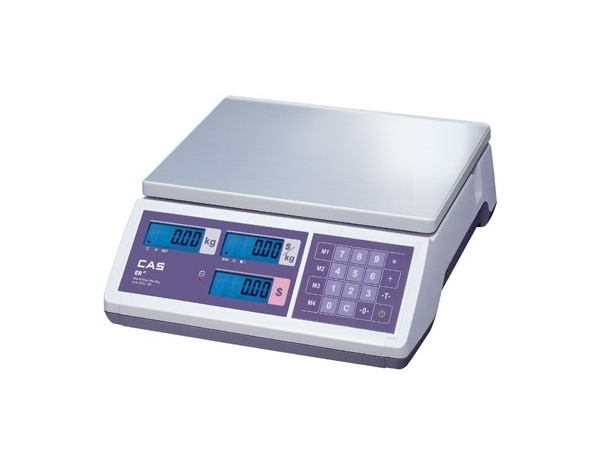 Elektroninės svarstyklės ER JR CB 15 kg
