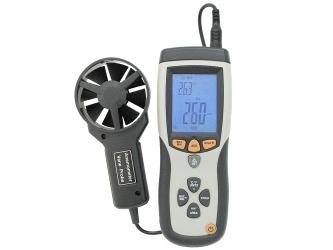 Infraraudonųjų spindulių termometras – anemometras DTTA-8894