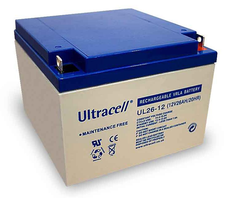 Akumuliatorius Ultracell UL26-12