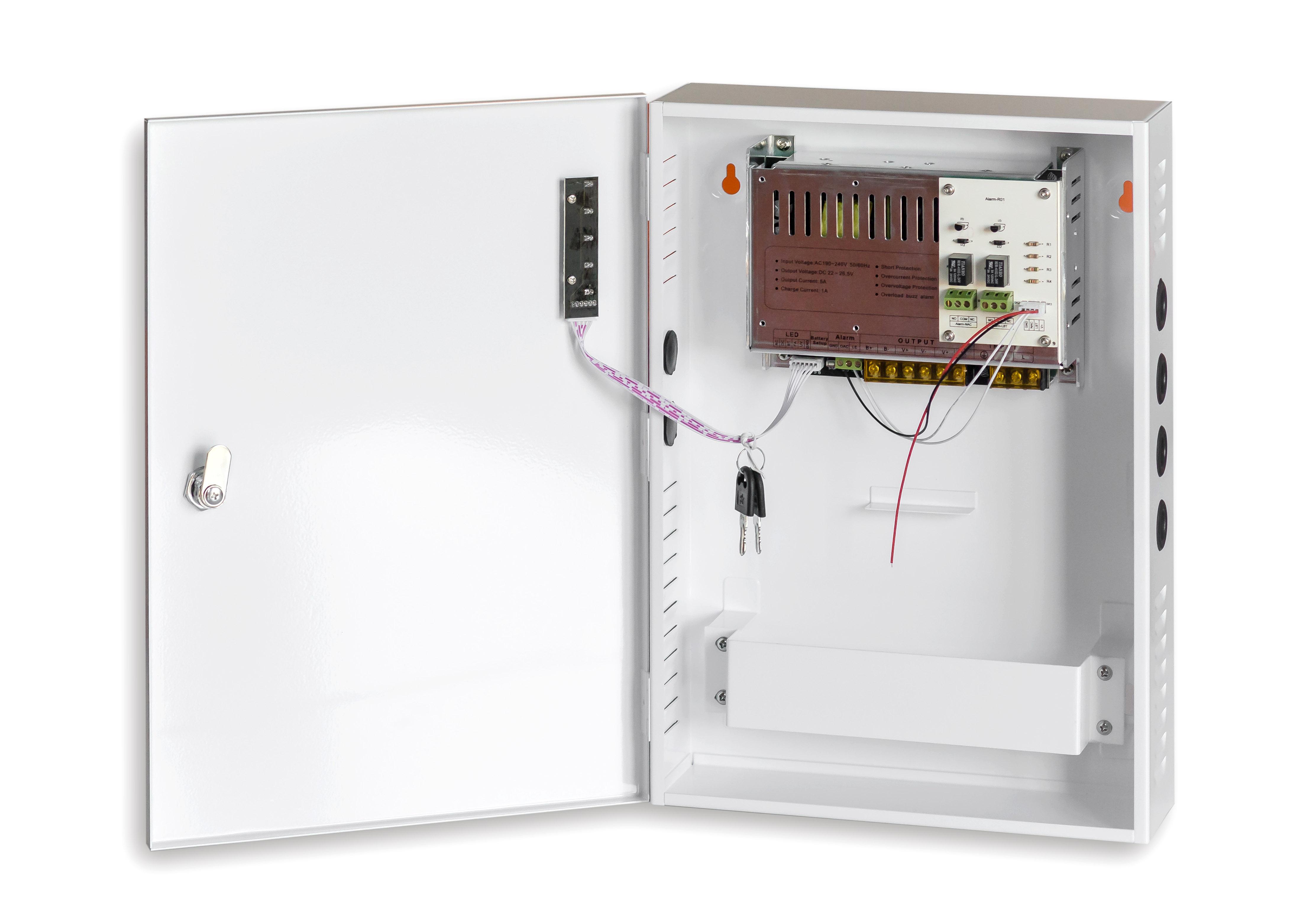 Impulsinis maitinimo šaltinis 5A/24V (didelė dėžė)