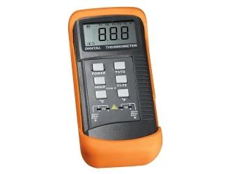 Dviejų kanalų temperatūros matavimo prietaisas DM-6802B