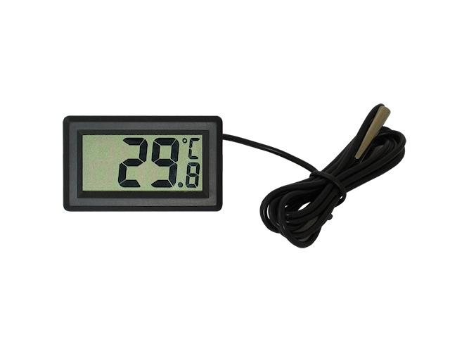 Elektroninis termometras su LCD ekranu DC-1