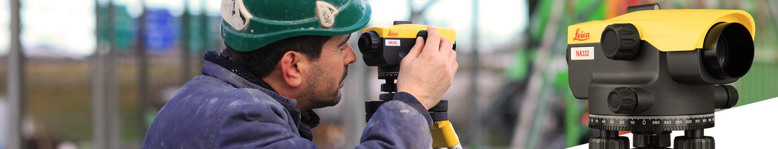 Automatiniai nivelyrai  Profesionalūs, itin pažangūs automatiniai (optiniai) nivelyrai preciziškam darbų atlikimui