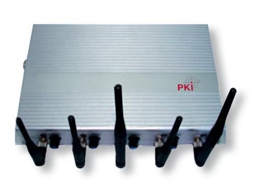Mobilių telefonų ir WIFI ryšio trukdžio įrenginys PKI 6035