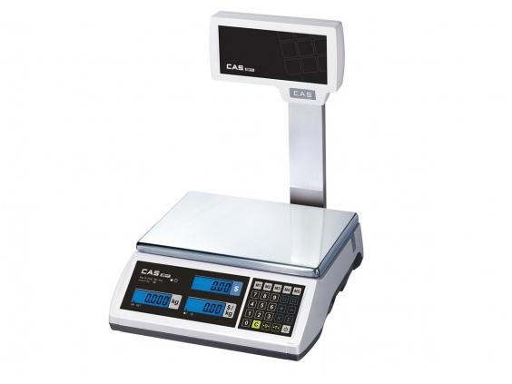 Elektroninės svarstyklės ER PLUS -CU 15 kg