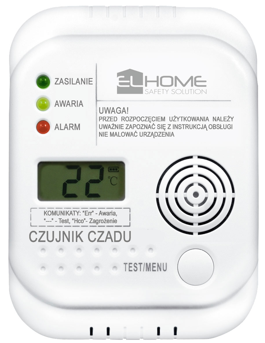 Autonominis anglies monoksido detektorius CD-75A4