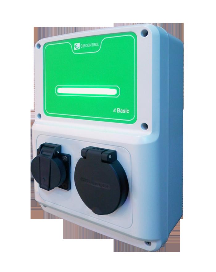 Elektromobilių įkrovimo stotelė WallBox eBasic