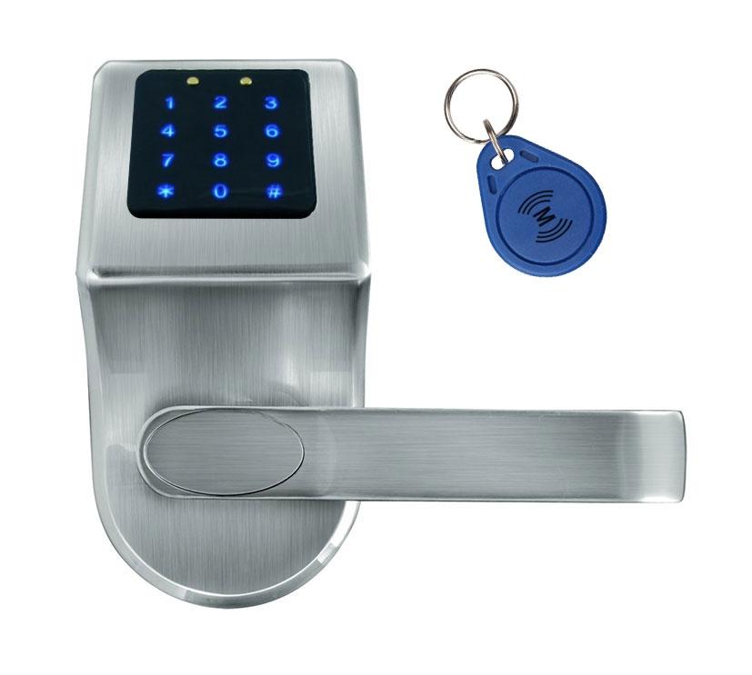 Išmani elektroninė durų spyna ELH-80B9 / sidabrinė (valdymo dalis)