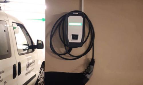 Viešbutyje Amberton Vilnius įrengėme elektromobilių įkrovimo stotelę