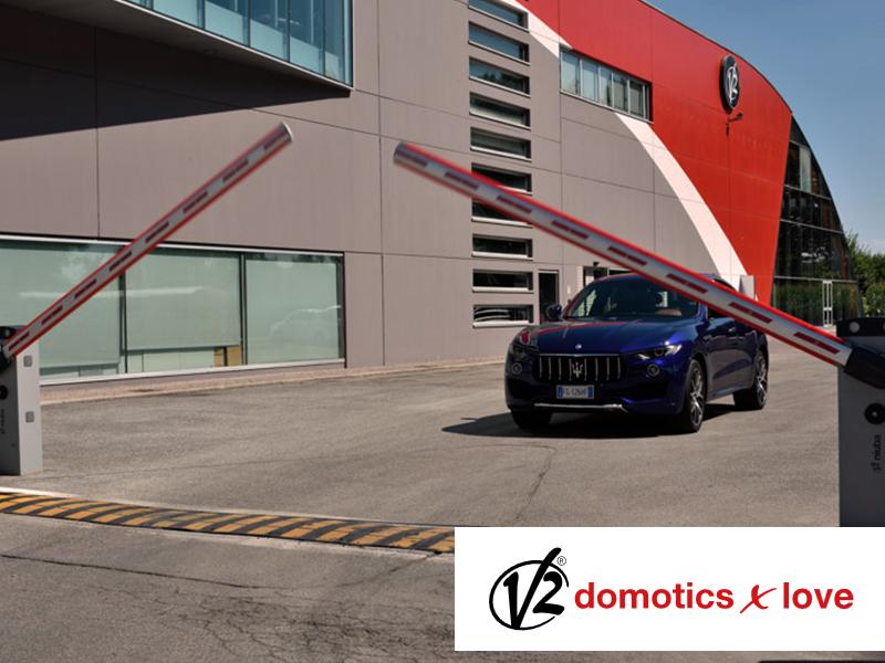 Vieni iš mūsų tiekėjų - Italijos įmonė V2   Nuo 1985 metų veikianti įmonė siūlo integruotus, inovatyvius automatizavimo sprendimus industriniams ir gyvenamiesiems objektams.  Įmonės sprendimai apima vartų automatiką, garažo vartų automatiką, automatinius kelio užtvarus, taip pat automatinių durų, žaliuzių valdymo sprendimus.