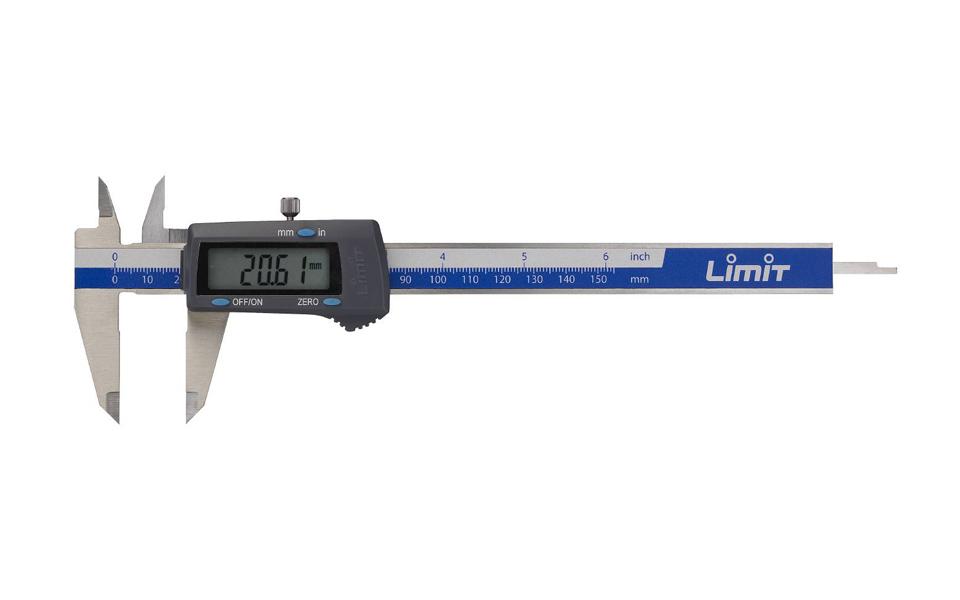 Skaitmeninis slankmatis Limit 190141002 (150 mm, kalibruotas)