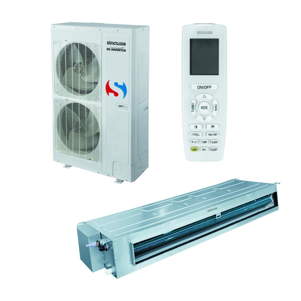 Kanaliniai oro kondicionieriai Sinclair UNI SPLIT