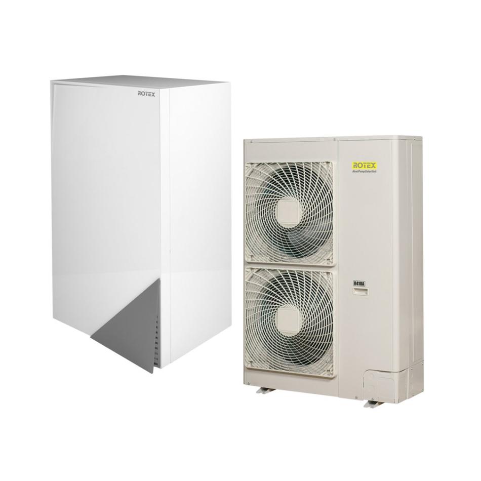 Oras vanduo šilumos siurbliai ROTEX HPSU Bi-Bloc (11-16 kW)