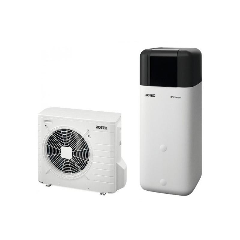Oras vanduo šilumos siurblys Rotex HPSU Compact 508 (6 kW)