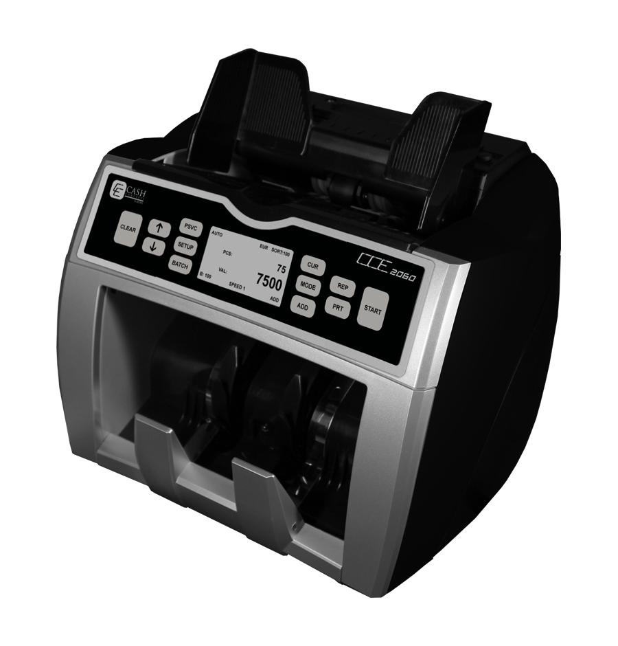 Banknotų skaičiavimo ir tikrinimo aparatas CCE 2060