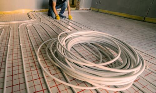 Grindinis šildymas, grindinio šildymo įrengimas