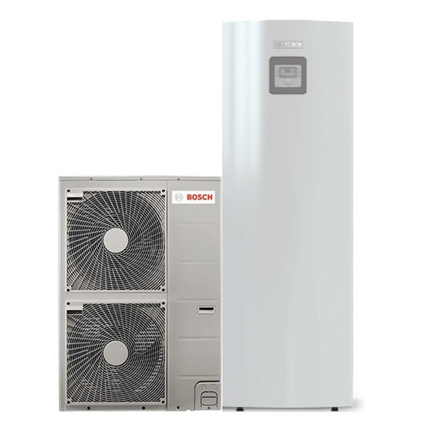 Oras-vanduo šilumos siurblys Bosch Compress 3000 AWS ODU Split 11t / AWMS 8-15