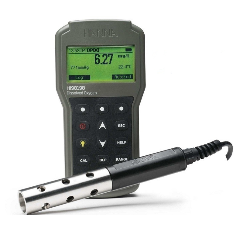 Optinis ištirpusio deguonies matuoklis Hanna HI-98198 opdo™