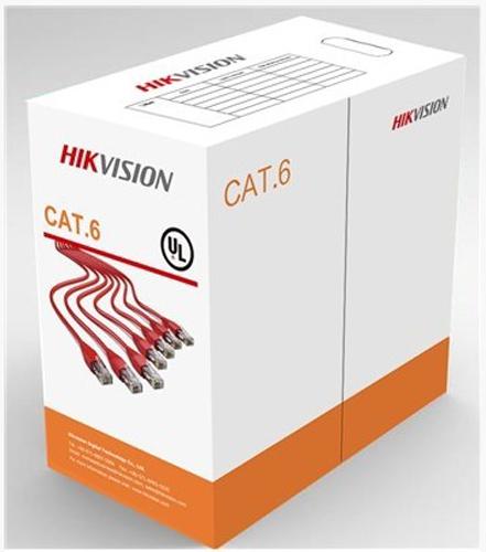 Ryšio kabelis UTP 6E CCA Hikvision DS-1LN6U-W/CCA (305 metrų ritė)