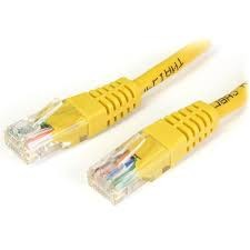 Lauko UTP kabelis CAT5e (0.5 m, geltonas)