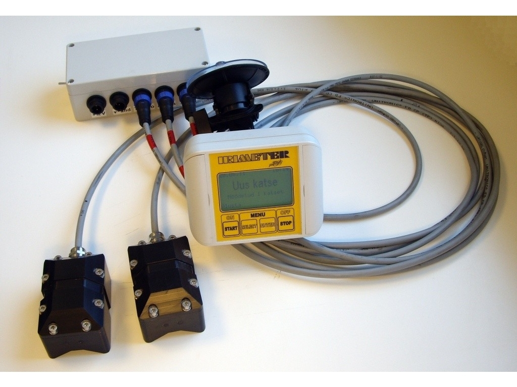 Kelių nelygumo matavimo sistema IRIMETER-1